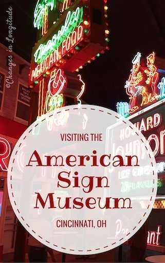 A stunning array of signs (from over 150 years of advertising) greets visitors to the American Sign Museum in Cincinnati.