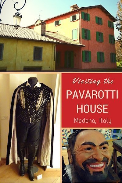 You don't have to be an opera buff to enjoy visiting the home of the late maestro Luciano Pavarotti outside Modena, Italy