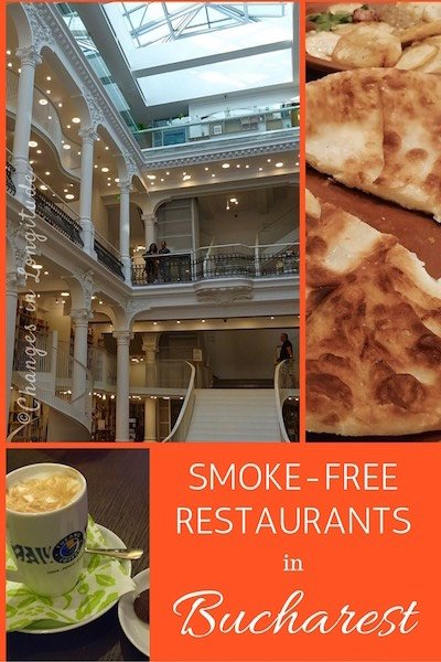 A guide to finding smoke-free restaurants in Romania's capital city of Bucharest