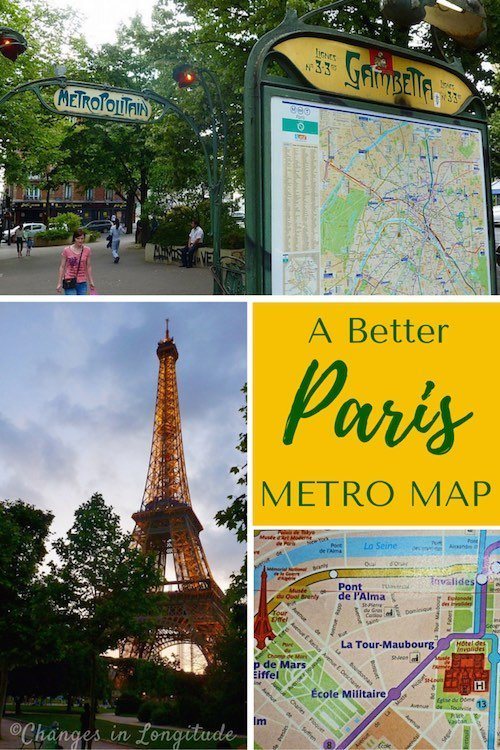 "With the Paris Metro map ""avec rues,"" you'll be navigating the city easily--both below ground and above!"