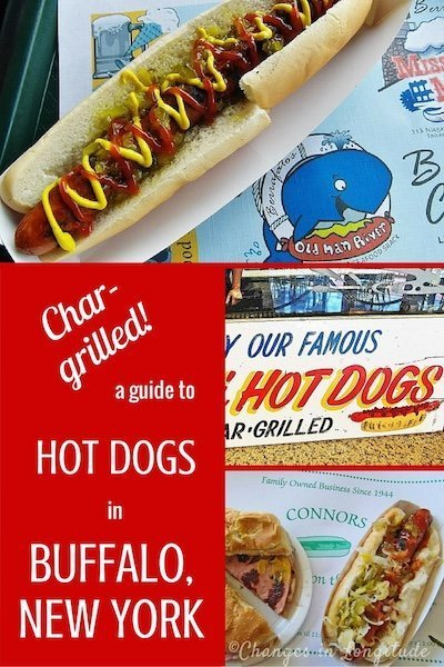 The city of Buffalo, New York is famous for char-grilled hot dogs. Here's a guide of our favorites.