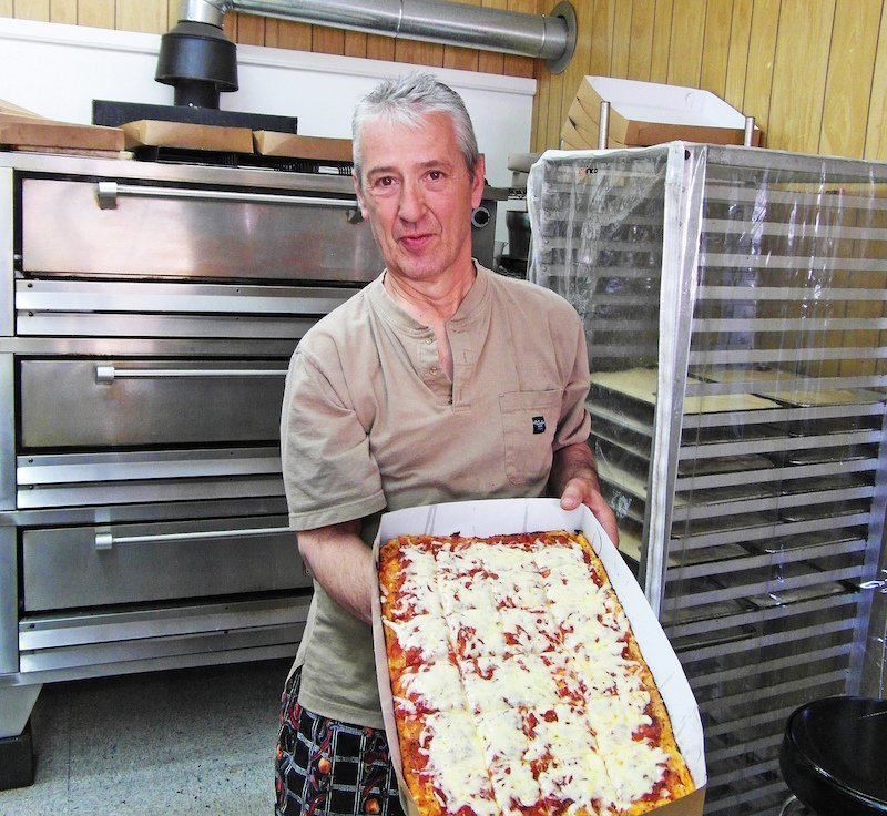 Elios Old Forge pizza