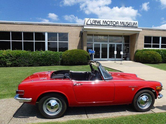 Guide to top car museums Lane Motor Museum