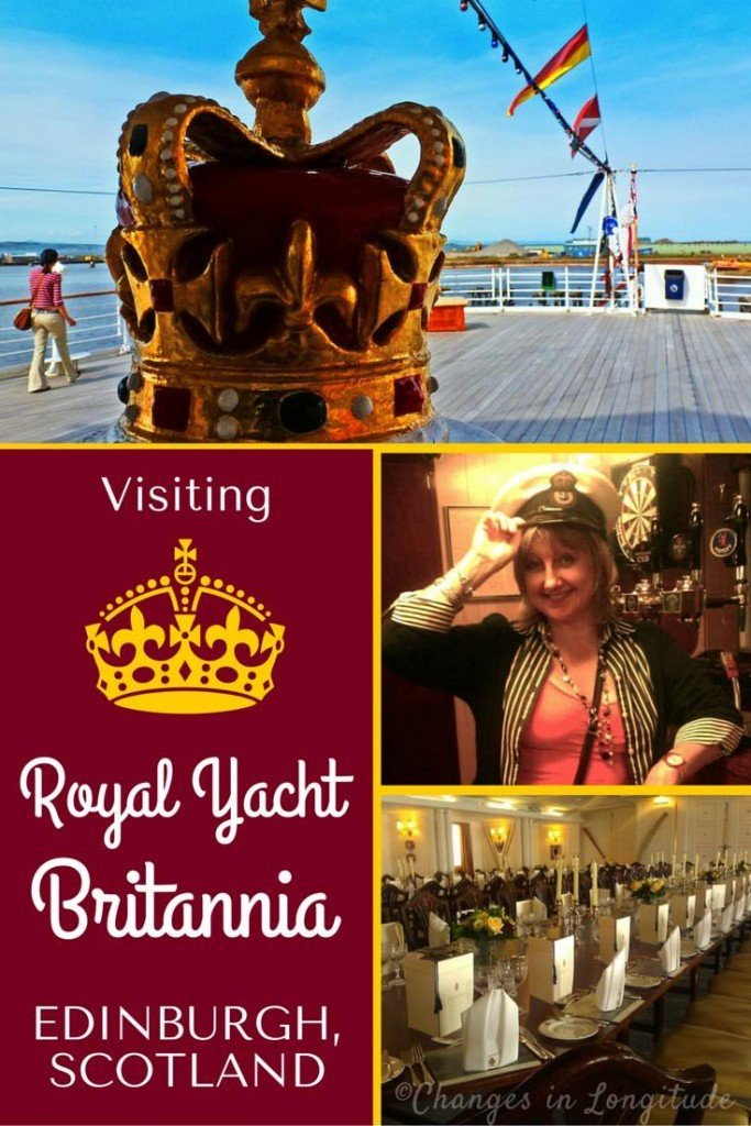 Feel like royalty--for a day--by visiting Royal Yacht Britannia in Edinburgh, the ship where Princess Diana spent her honeymoon.