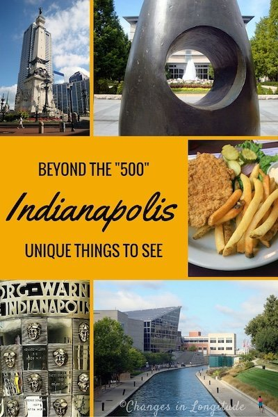 The American city of Indianapolis offers many interesting sights beyond the famous auto race.