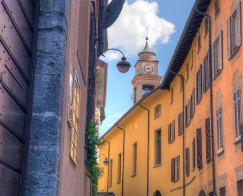 Street in Como, Italy