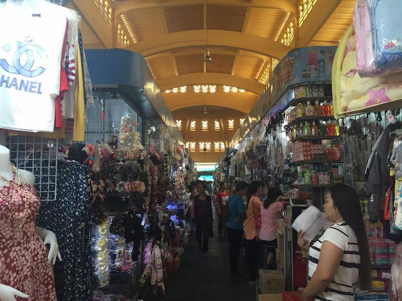 Central Market in Phnom Penh