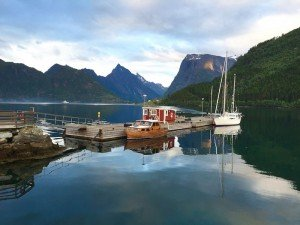 Slow travel through the Norwegian fjords