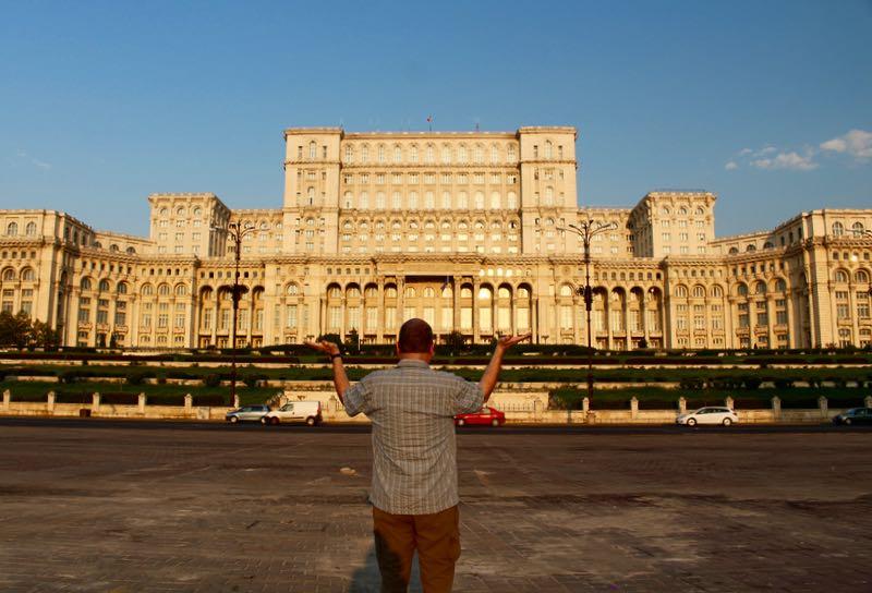 World's heaviest building Bucharest
