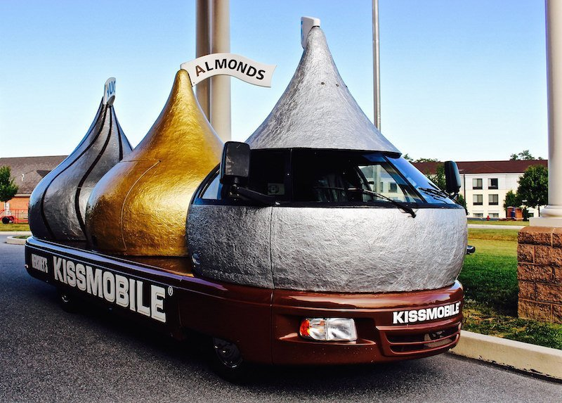 AACA Museum hershey Kissmobile