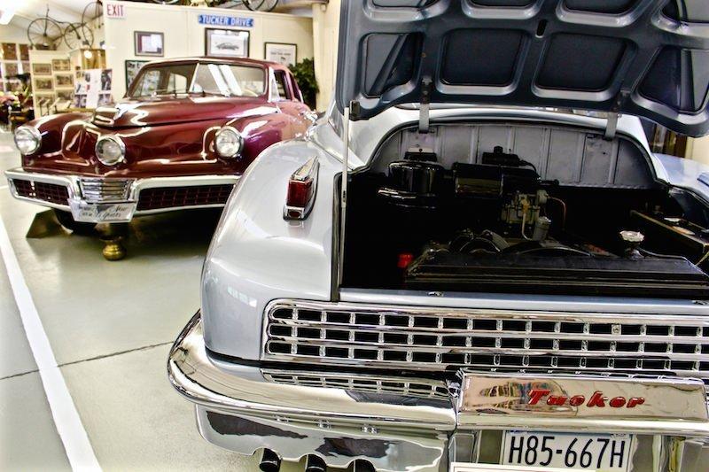 Two Tuckers Swigart auto museum Pennsylvania
