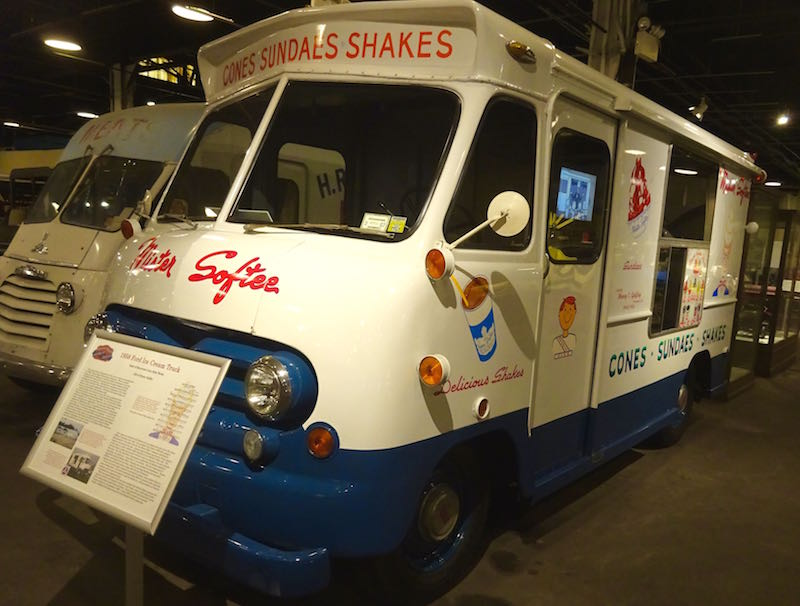 Mister Softee truck Boyertown vehicle museum