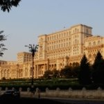 Palace of Parliament building, Bucharest Romania