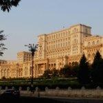 Palace of Parliament building, Bucharest Romania
