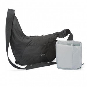Perfect travel camera bag: lowepro-passportsling3_withinsert
