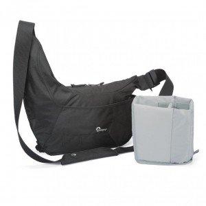 Perfect travel camera bag: lowepro-passportsling3_withinsert