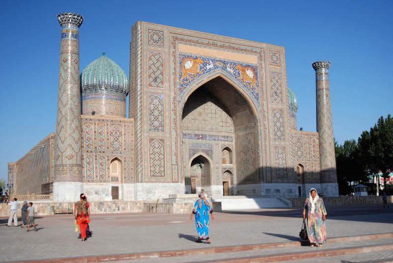 Visiting the Silk Road-Bukhara