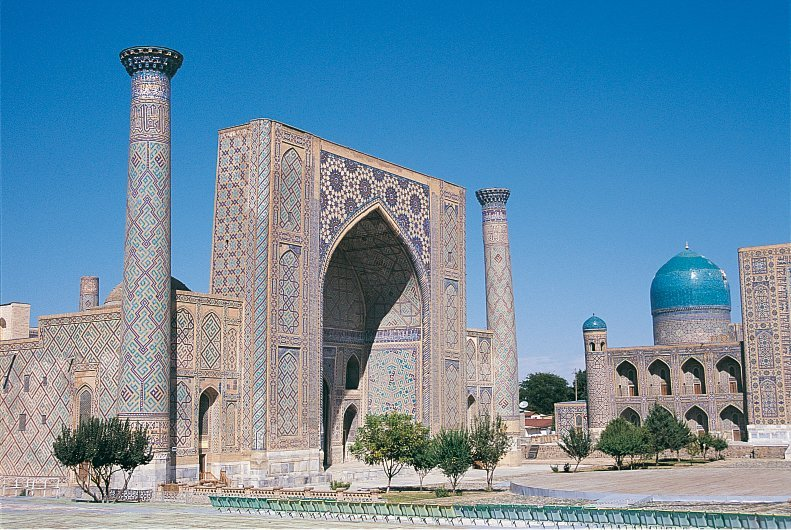 Visiting the Silk Road-Samarkand