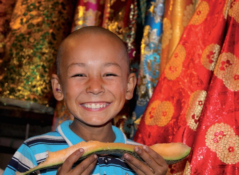 Visiting the Silk Road: Local boy-Kashgar