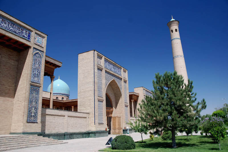 Visiting the Silk Road-Tashkent