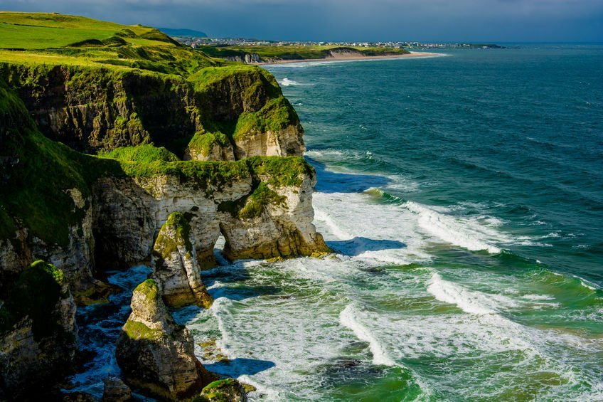 driving cliffs of Ireland