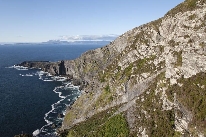 49128650 - fogher cliff; valentia island; ireland
