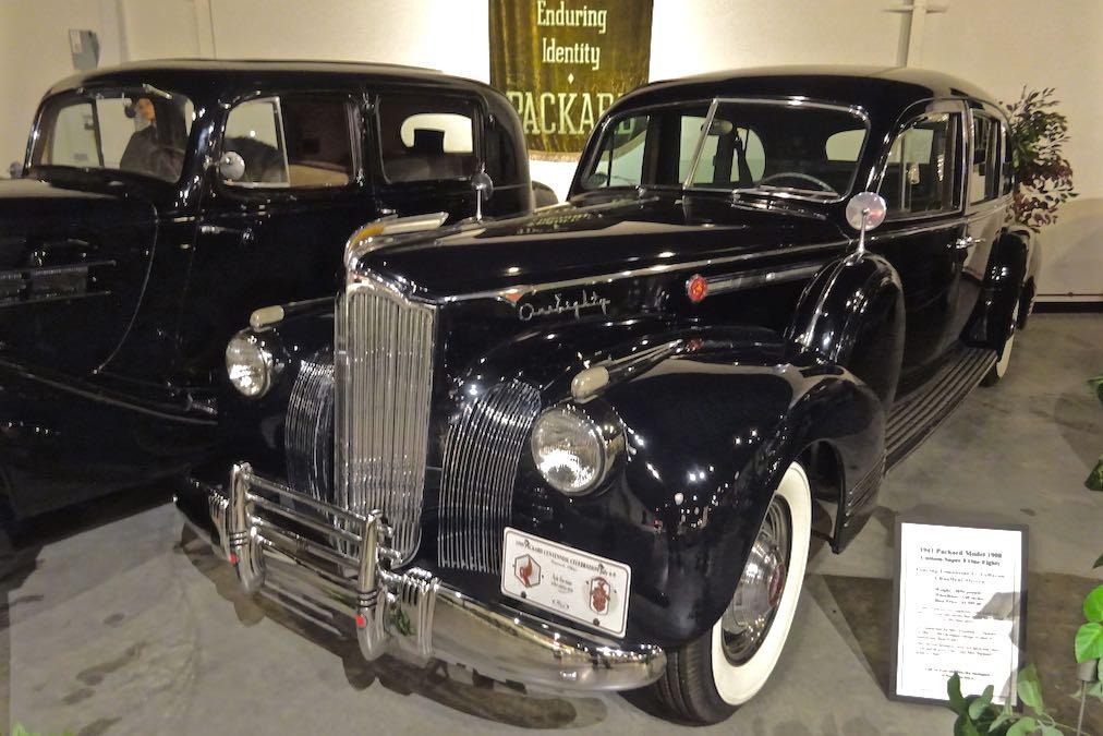 1941 Packard LeBaron limousine