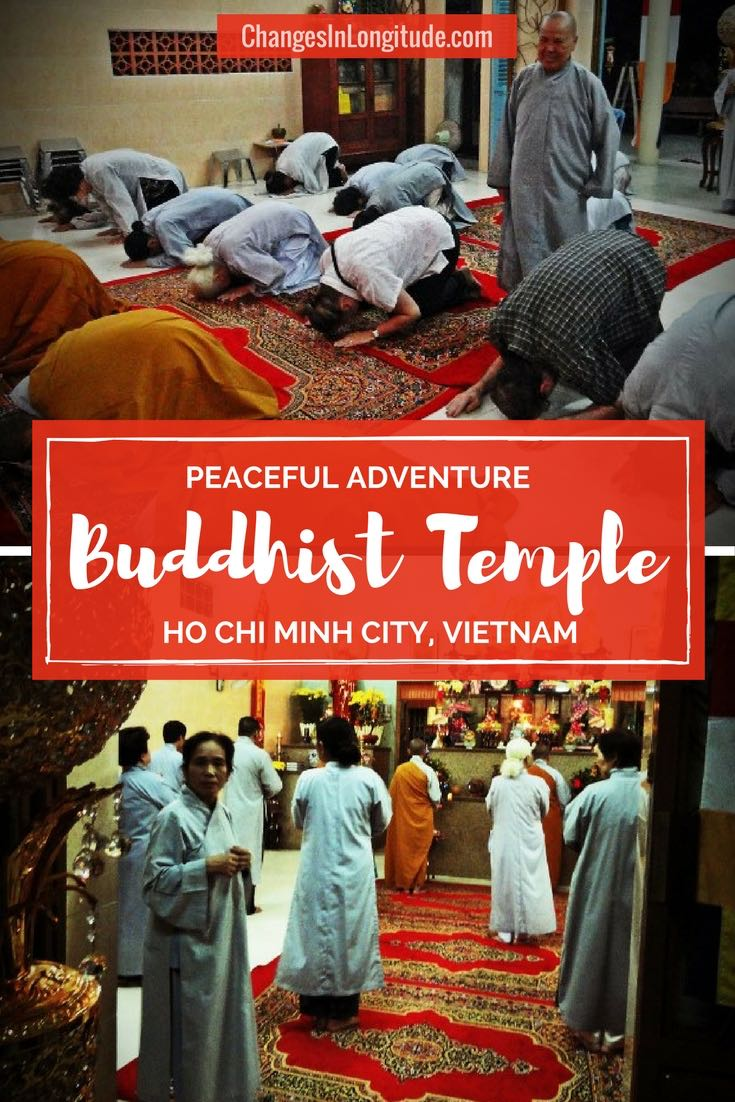 A peaceful adventure in Vietnam in a Buddhist Temple|Vietnam travel|WEVentureOut|How to visit a Buddhist temple|Buddhist pagoda|Buddhist temple Ho Chi Minh City|Buddhist temple Saigon