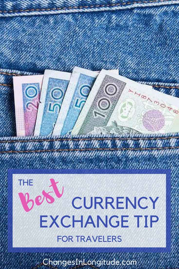Tips to save money on currency exchange should you use credit cards to change money how to change money while traveling