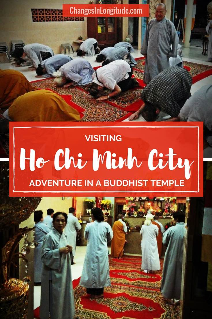 Sometimes adventure can be peaceful-like when unexpectedly visiting a Buddhist Temple in Vietnam|Vietnam travel|Things to do in Ho Chi Minh City|Visiting Ho Chi Minh City|Travel to Saigon