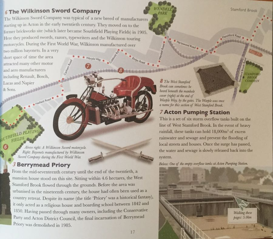 Book Review London's Hidden Rivers Wilkinson Sword Company
