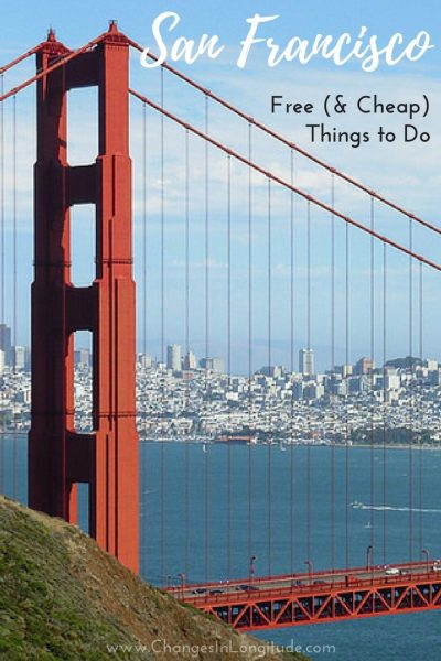 Free things to do in San Francisco|Cheap things to do San Francisco|Local's guide to San Francisco