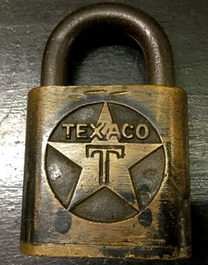 Lock Museum of America Escape Room Texaco Lock
