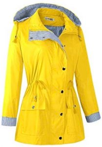 women's travel raincoat