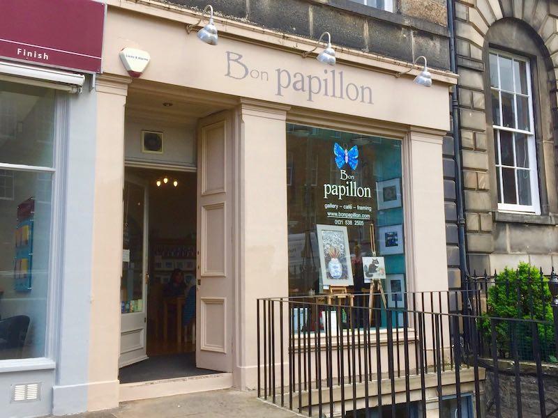 Bon Papillon cafe and gallery