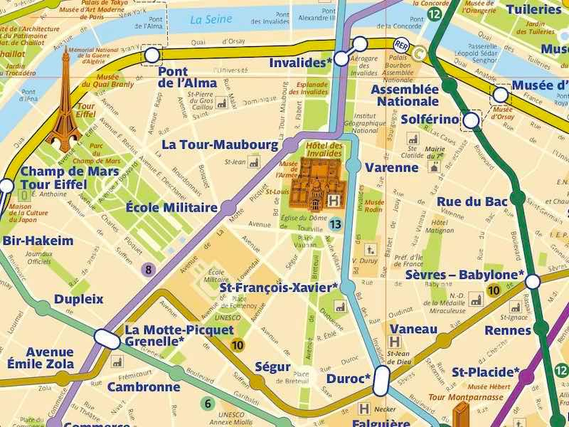 Subway Map Paris English.A Better Paris Metro Map Pdf For Download Changes In Longitude