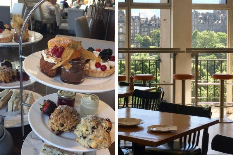 High tea Edinburgh