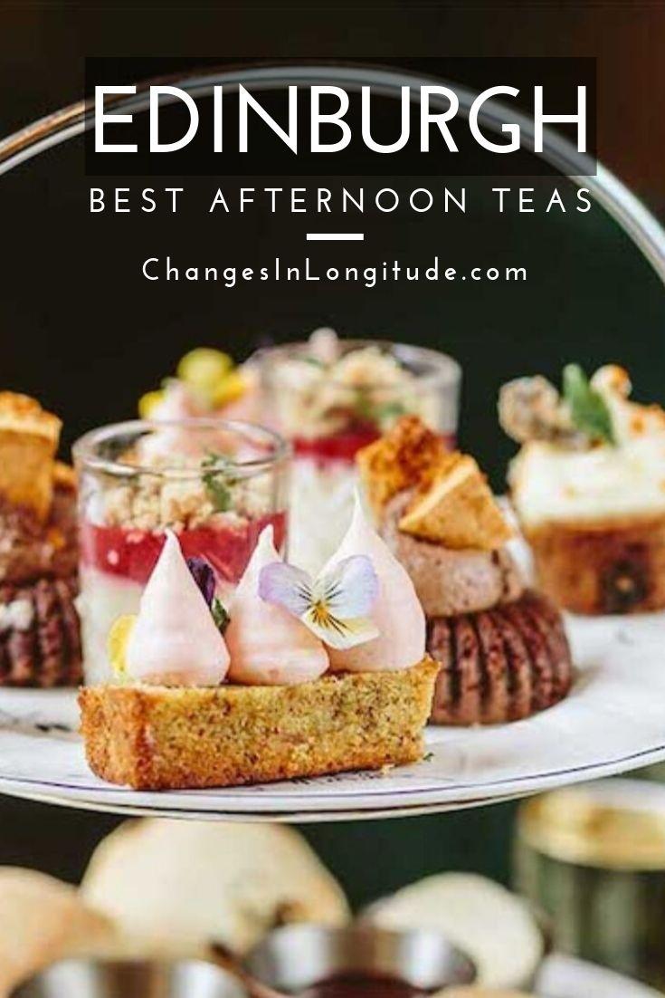 afternoon tea Edinburgh