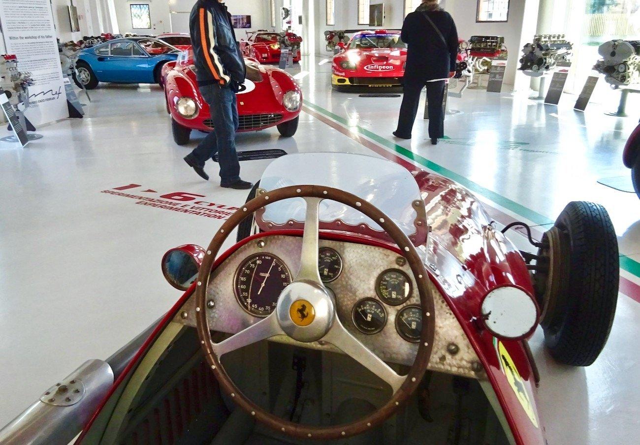 ferrari Museum Modena 1951 500 F2 Formula 1 champion
