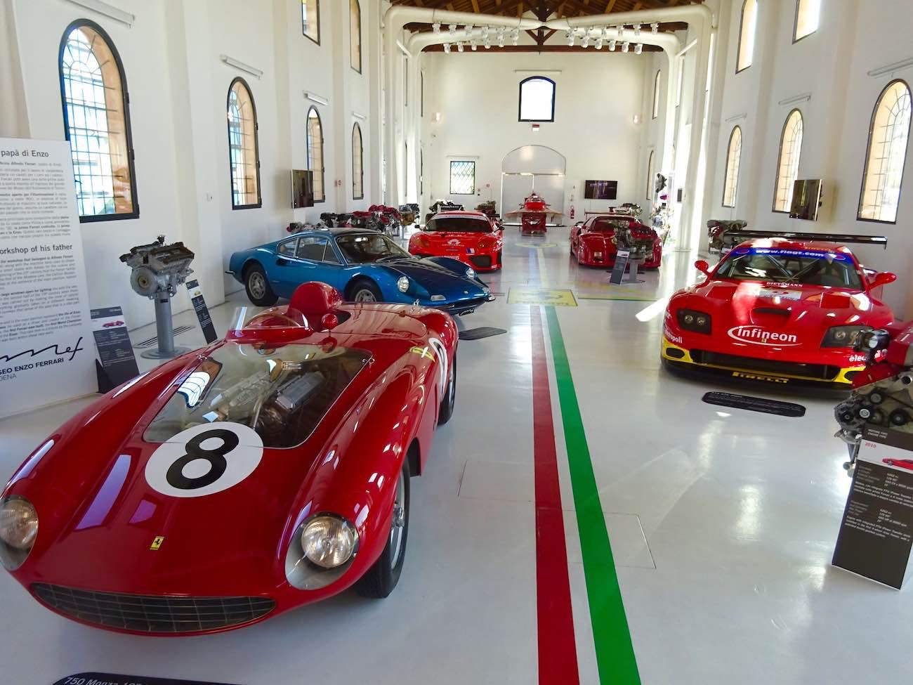 The Enzo Ferrari Museum In Modena Changes In Longitude