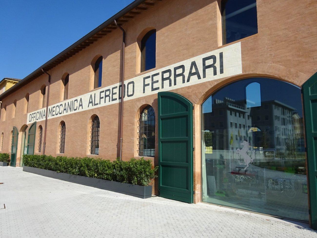 The Enzo Ferrari Museum In Modena Changes In Longitude