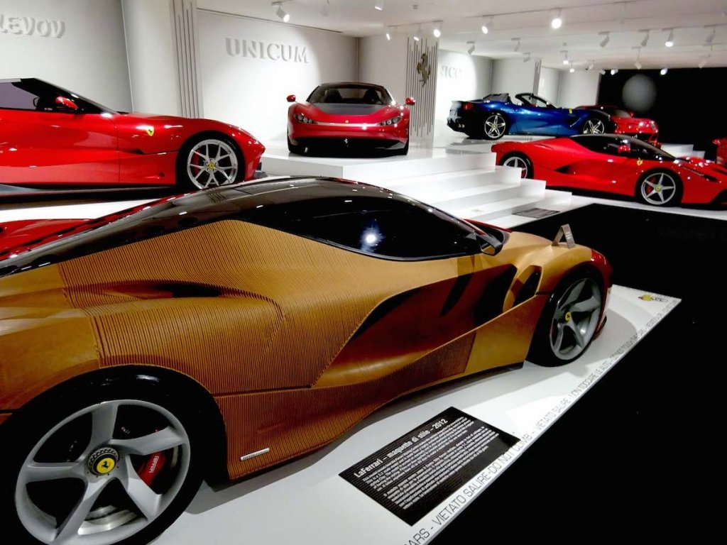 Ferrari Musuem Marinello one off gallery