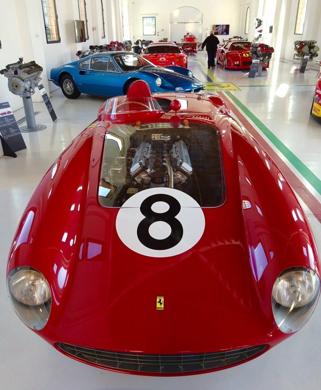 Enzo Ferrari Museum in Modena Italy