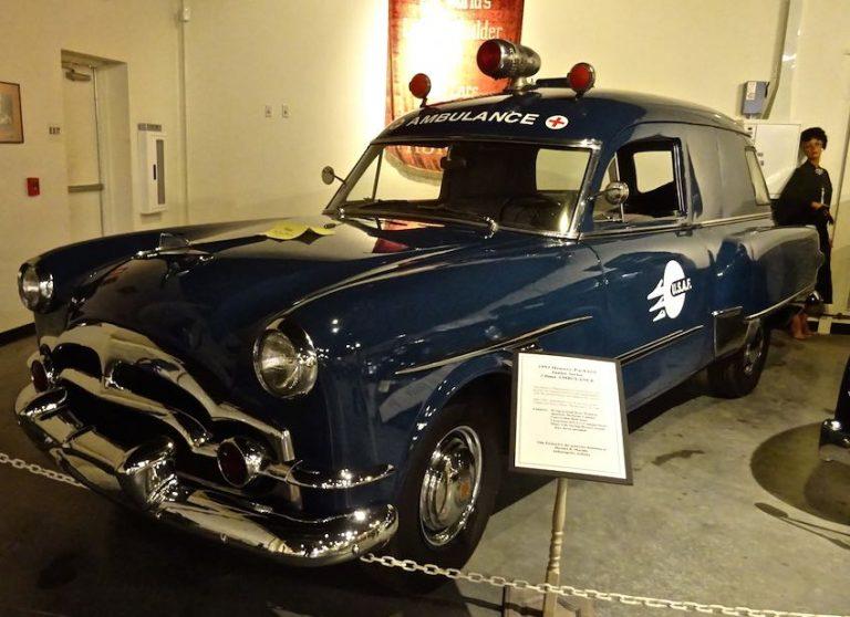 1953 henney Packard ambulance