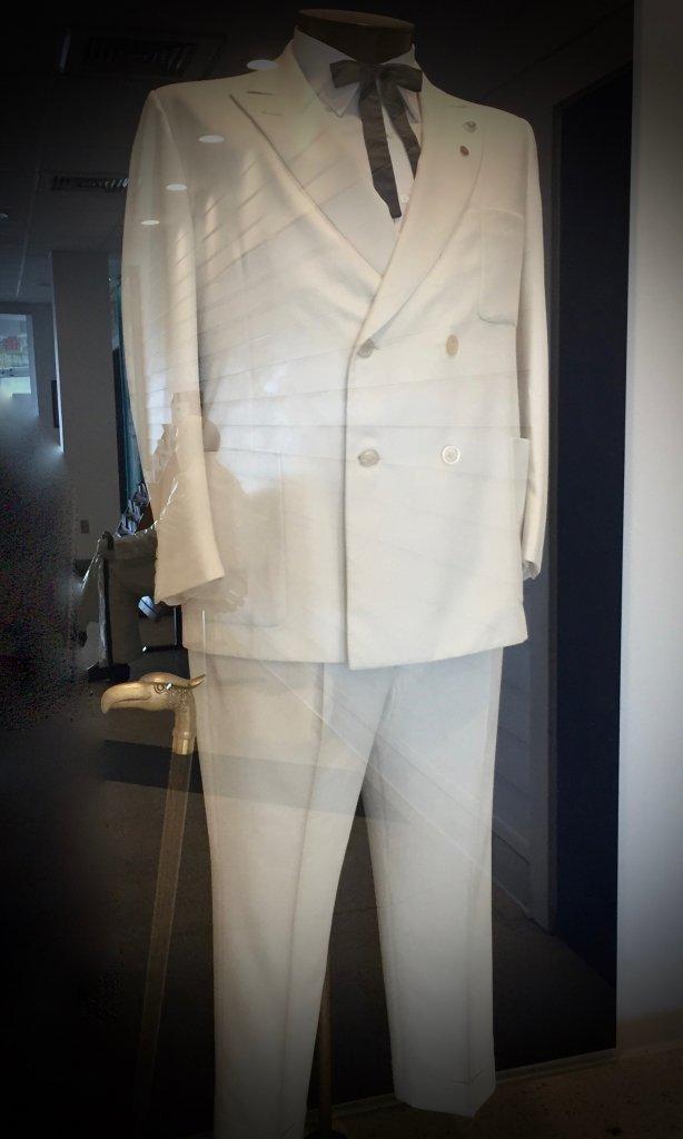 Harland Sanders' signature white suit